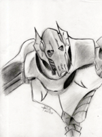 Grievous sketchie by theREDspy