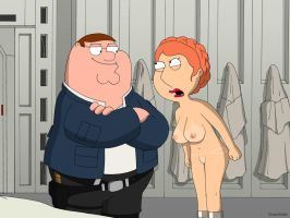 Family Guy - Lois Leia Griffin by 2ndChainMale
