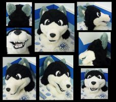 Doggy fursuit head ON SALE by dragon-x2