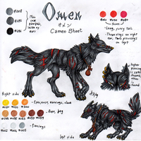 Cameo Sheet n.6: Omen by ARVEN92