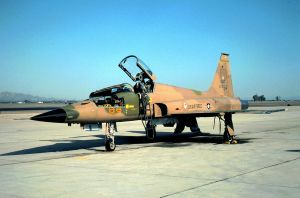 64 FWS Commander's F-5E by F16CrewChief