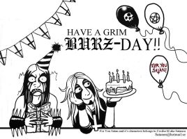 For You Satan BURZ-day by satanen