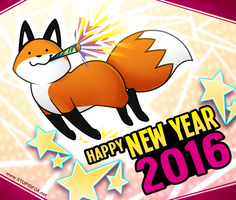 HAPPY 2016 by SilentReaper