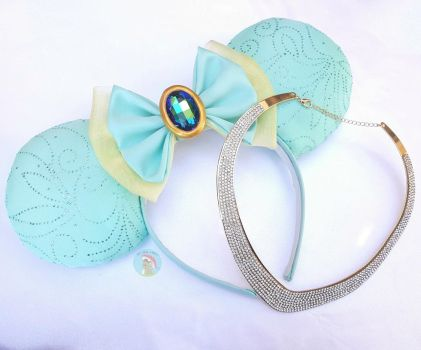 Agrabah Princess Mouse Ears by CreationsByMelissa