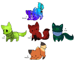 Derpy Critter Adopts - Adopted by Feralx1