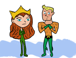 Queen Mera Is Not Amused by TyeDyeFancyPants
