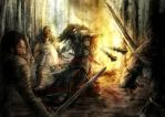 Waylander attacks by slaine69