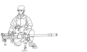 German Anti Tank Rifle by DeSynchronizer