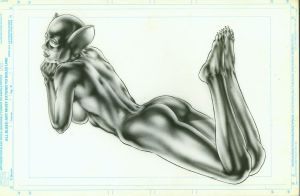Catwoman_Sketch by MichaelBair