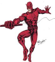 Daredevil Man without Fear by wburton19