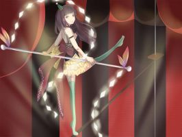 The Tightrope Walker by myckuu