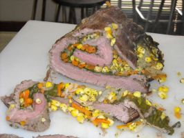 Matambre - Rolled Flank Steak by FrogsRSexy