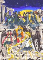 Shinigami Sailor Senshi by MTToto