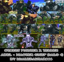SFXT - ABEL - MASTER CHIEF (HALO 4) by Khaledantar666