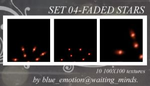 Set 04-Faded Stars by blue-emotion