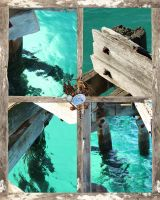 WEATHERED AND BLUE by simoneyvette