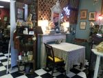 Stock: Antique cafe shop by mayshing