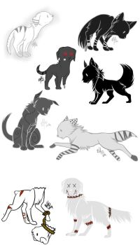 FREE PUPPY ADOPTS: CLOSED by Inner-Realm-Adopts