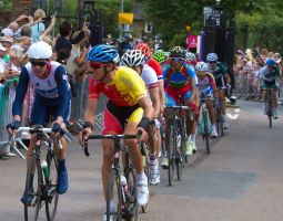 London 2012 Olympic Mens Cycle Race  Richmond Park by Photoburner