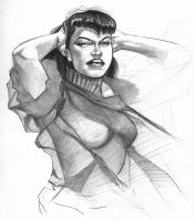 Bettie Page by Hachiman1