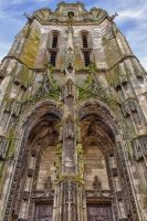 Cathedral of Argentan Orne France by hubert61