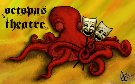 Absurd Animals:Octopus Theatre by dune-gig