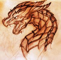 A Greedy, Strong, and Wicked Wyrm by Alexbee1236