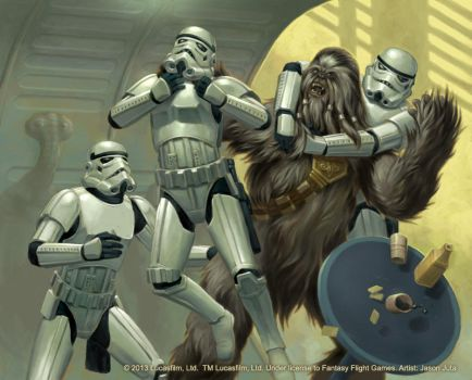 Heart of a Wookiee by jasonjuta