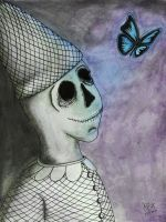 The Clown And Butterfly by Awaytonoway