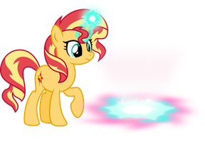 Sunset opened the magical portal by Osipush