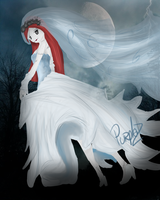 Contest Entry - Sally, the Corpse Bride by Purple-Nightmares