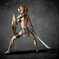 Amazon Warrior by Coolgraphic