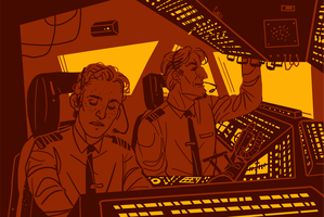Cabin Pressure: Red Skies Over Russia by gabiiiiiii