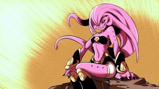 Majin Girl by Gannadene