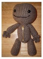 -Crochet- Sackboy by Kawaii-Kit