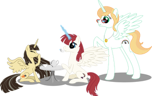 (Un)Usual Tea Party (100th deviation, YAY!) by Ambassad0r