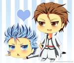 Commission: Grimmy x Aizen by Ginryuzaki
