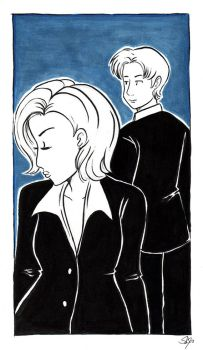 Xfiles Doubtful by starlinehodge