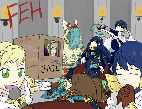 FEH - Monopoly Gauntlet by SnowGoldCastle
