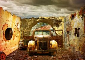 Old Rusty Car by Johndoop