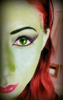 Poison Ivy Makeup by InkIsMyPassion