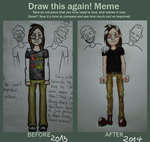 Draw This Again Meme - Abe by TheSpoonhead