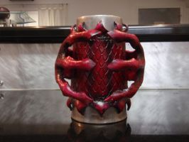 Dragon Flagon - front by Red-Dragon-Lord