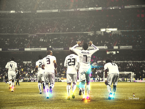 Real Madrid 2011 by MostafaGFX