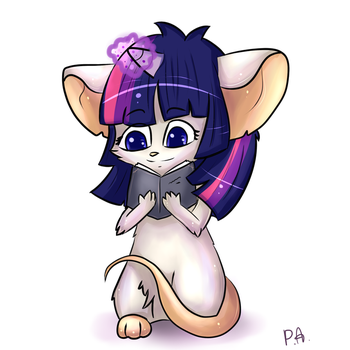 Transformice Twilight mouse :D by MousePiavko