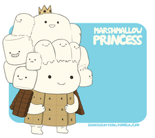 Marshmallow Princess! by hyperboy