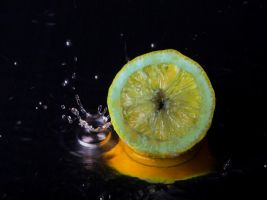 Yellow lemon by Exploited-Me