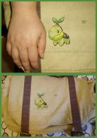Turtwig Messenger Bag by theygotme