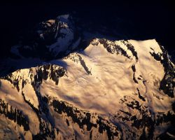 Mountaintop At Sunset by Xercesa