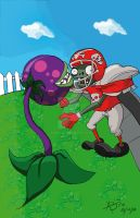 Plants VS Zombies by ABE18